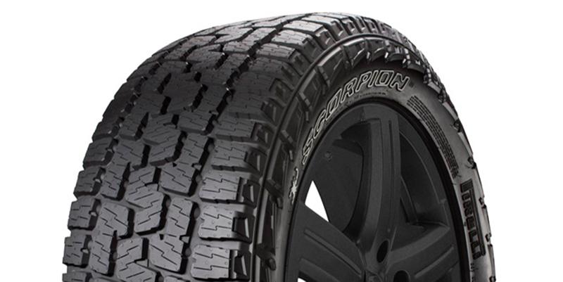 pirelli previews new scorpion a t plus tire at sema tire. Black Bedroom Furniture Sets. Home Design Ideas