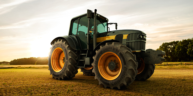 Continental ag tires Tractor70