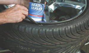 17. apply bead sealer to the bead of the tire before inflation to help prevent air loss around the bead. (not necessaryfortruck tires.)