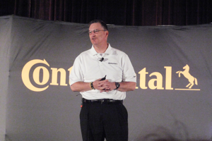 Bill Caldwell, vice president of sales and marketing, pressed CTA's case to be its Gold dealers' top unit sale brand.