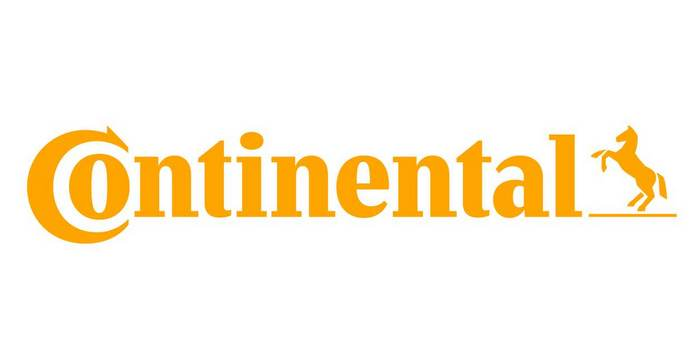Yellow logo of Conti