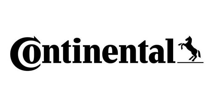 Black logo of Conti