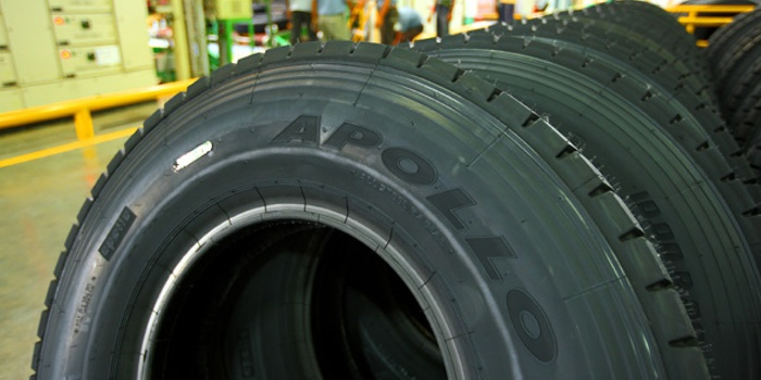 Apollo Tyres featured on tires