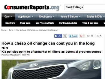 Trade Associations Challenge Consumer Reports Story
