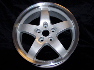 Polished wheels have a near-mirror finish that is almost as bright as chrome.
