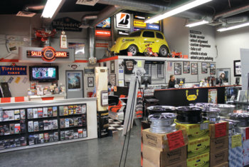 Once 10 stores strong, due to various events and economic issues, Performance Plus is down to one very large facility in Long Beach, Calif.