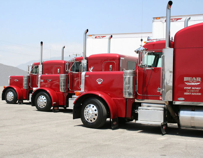 New laws have created the need for new truck purchases because some regulations reduced truck fleet productivity.