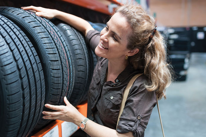 Sixty-five percent of women make tire and car purchases, but often feel misunderstood by marketers. Educate them on a tire's benefits, as long-term benefits are often more important to females than meeting an immediate need.