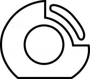 Designates a support ring run-flat tire