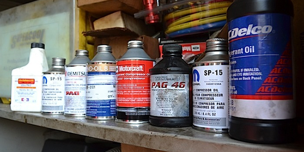 Understanding the Differences Between A/C Compressor Oils