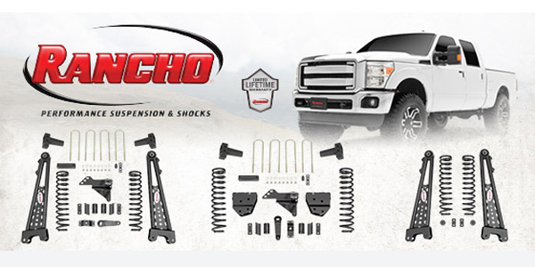 Rancho Lift Kits >> Rancho Launches Suspension Lift Kits For 2017 Ford Superduty