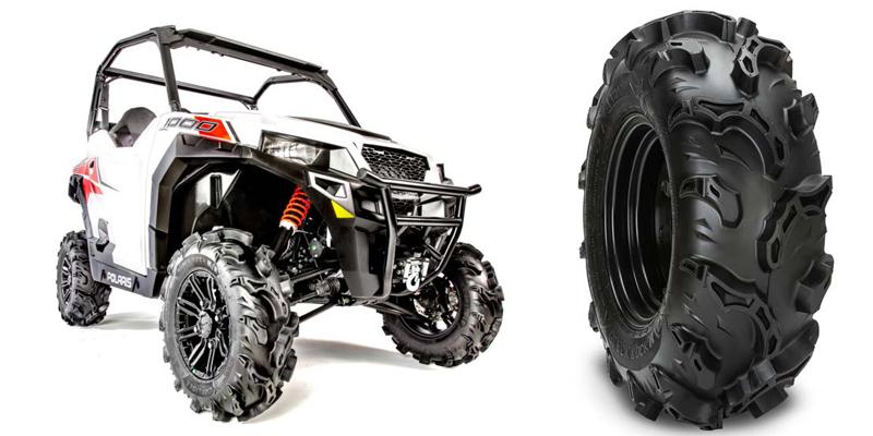 Carlstar ATV UTV Tires Black Rock