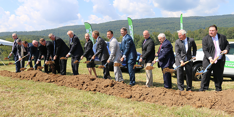 Nokian Tyres Tennessee Groundbreaking Photo