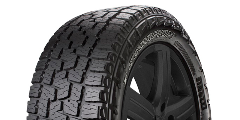 Pirelli Previews New Scorpion A  T Plus Tire At Sema