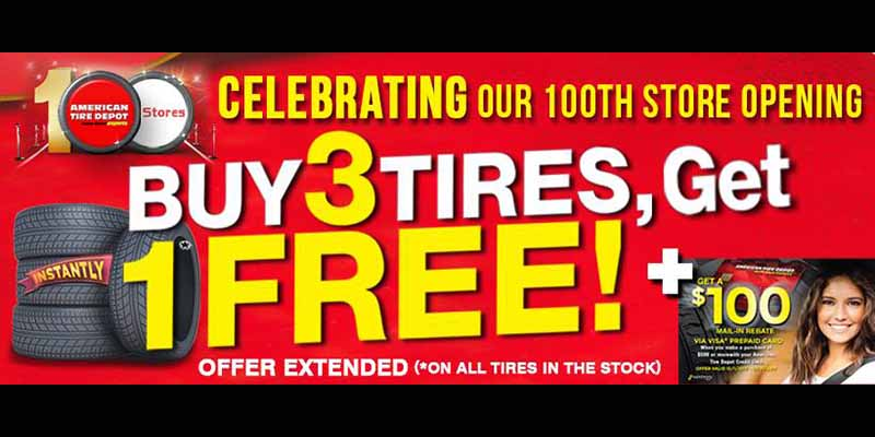 American Tire Depot Celebrates 100 Locations Tire Review Magazine