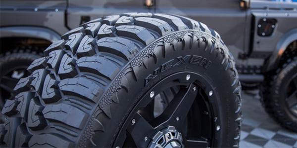 Nexen Tires first off-road tire on FOX