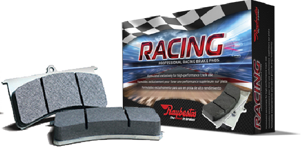 Raybestos® new Professional Racing brake pads.