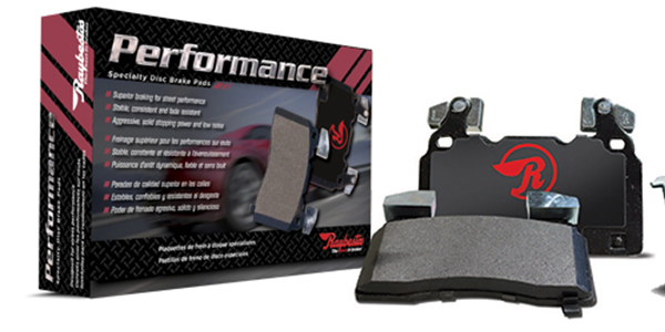 Raybestos® new Performance Specialty brake pads.