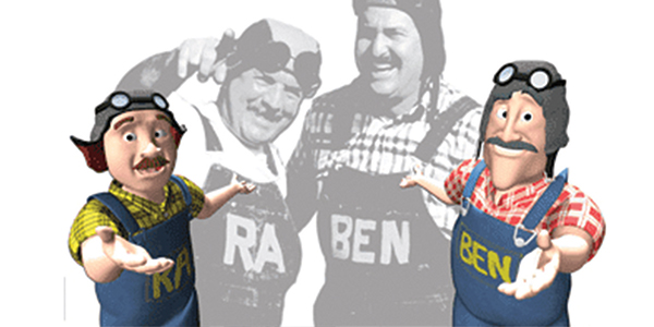Ra and Ben of Raben Tire