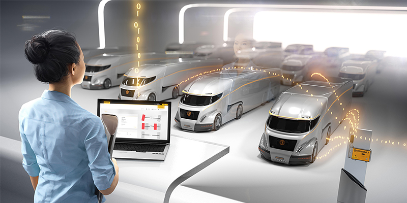 Continental ContiConnect digital ture monitoring for fleets