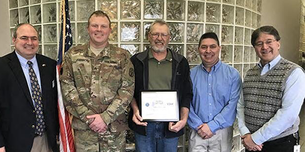 Cooper Tire Support Guard and Reserves Patriot Award
