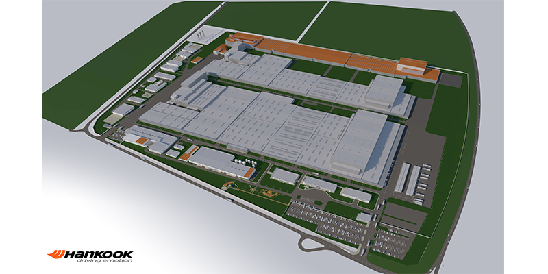 Hankook Tire plant expansion Hungary