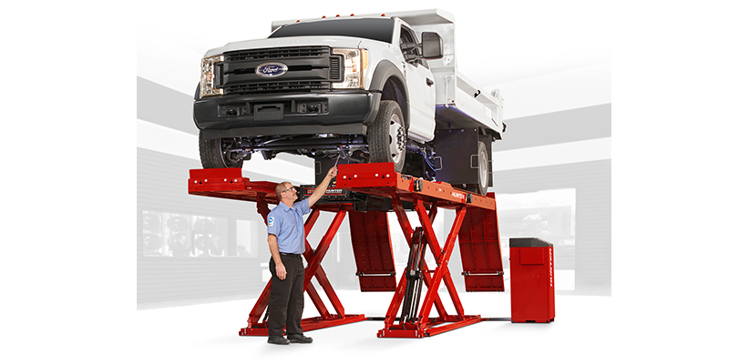 Hunter Engineering Alignment Lift Rack