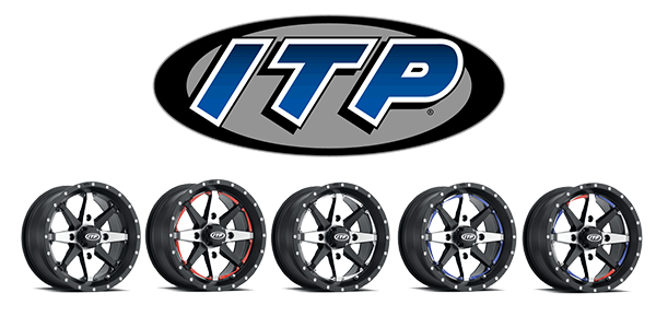 ITP Cyclone wheels customizable ATV