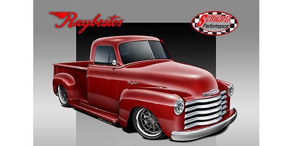 Raybestos 1953 Chevy