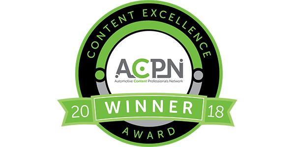 automotive content profressionals content excellence awards