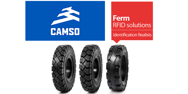 Camso FermRFI tire dientification patent
