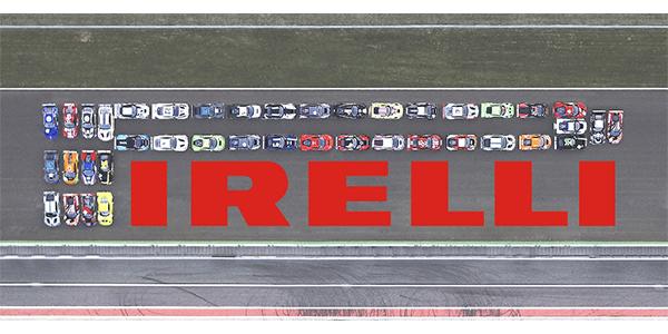 Pirelli logo Monza prestige cars