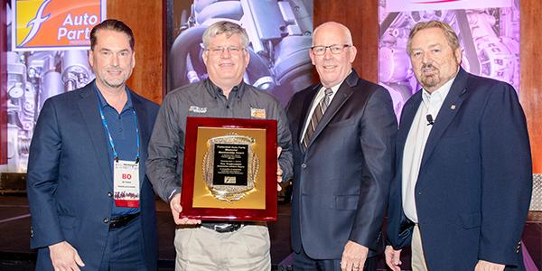 Tim Trudnowski Art Fischer Memorial Award Federated Auto Parts