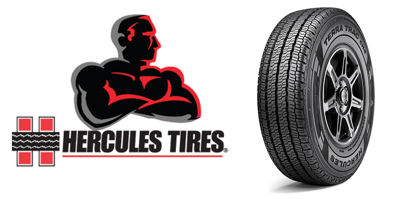 Hercules Terra Trac CH4 commercial all season tire