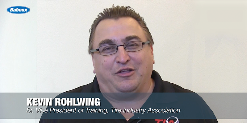 Kevin Rohlwing Senior vice president Training Tire Industry Association