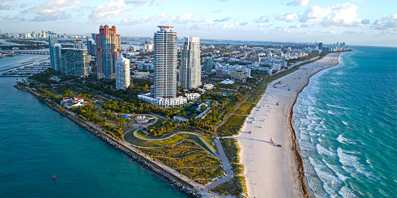 Miami Top summer travel destination Hankook Tire Gauge