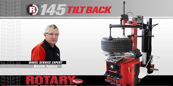 Rotary Lift R145 Tiltback Tire Changer