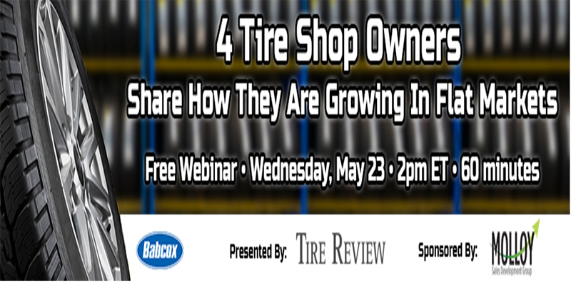 Webinar tire dealers grow in flat market