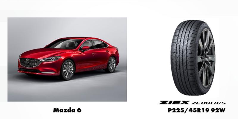 Falken Ziex Z001 Aall-season Mazda Model 6