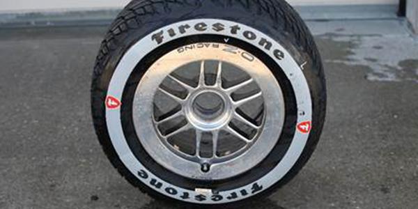 Firestone Firehawk Verizon IndyCar rain tire