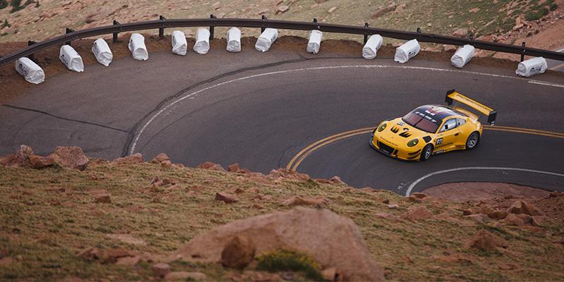 Porsche Cayman GT4 Clubsport Pikes Peak Hill Climb Trophy by Yokohama