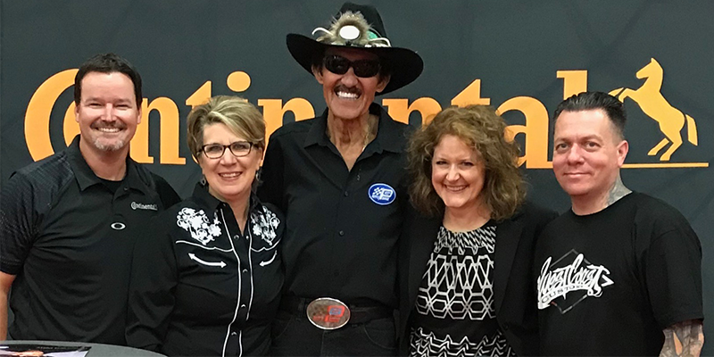 Richard Petty Patti Renner
