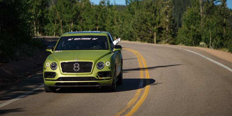 Pirelli Pikes Peak Race to the CLouds Bentley