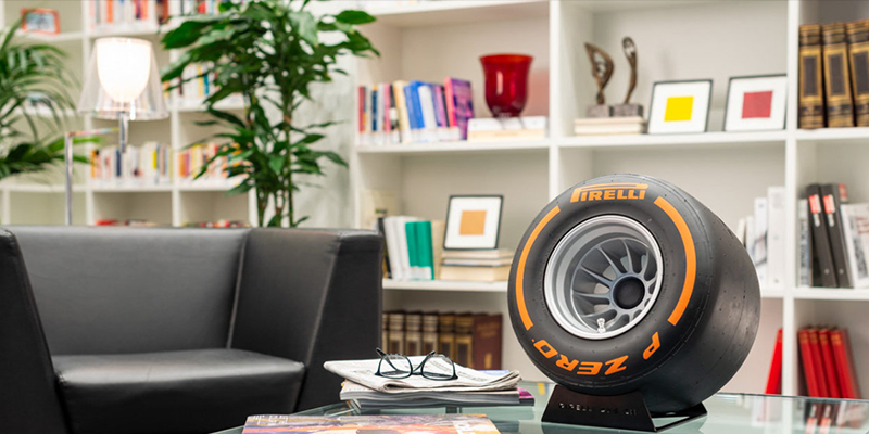 Pirelli Sound Tire audio speakers