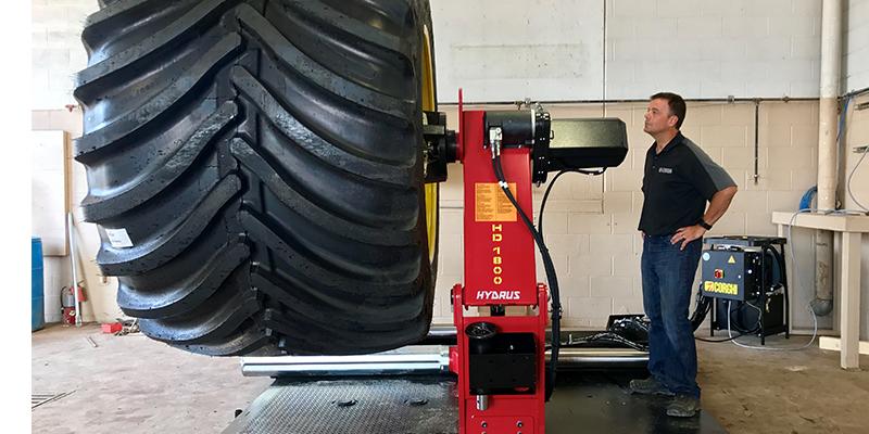 Corghi USA Hydrus Heavy Duty Tire Changer