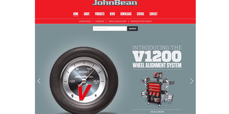 John Bean New Website