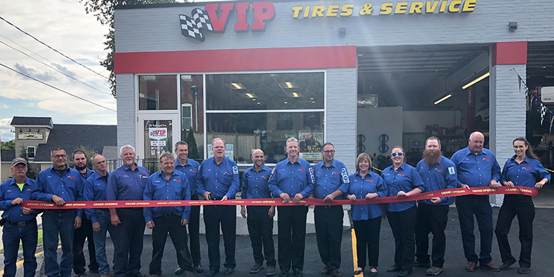 VIP Tires & Service West Lebanon New Hampshire Store Grand Opening