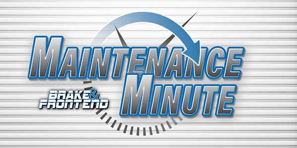 Andrew Markel Maintenance Minute