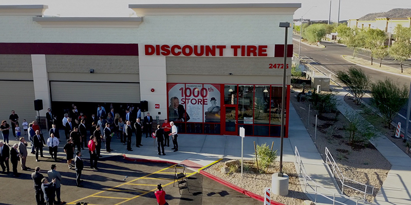 Discount Tire Store Hours >> Discount Tire Opens 1 000th Store In Phoenix