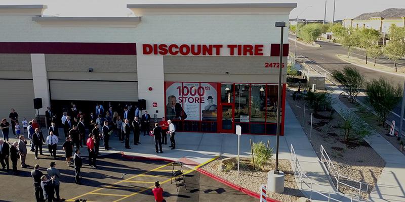 Discount Tire 1,000 store phoenix